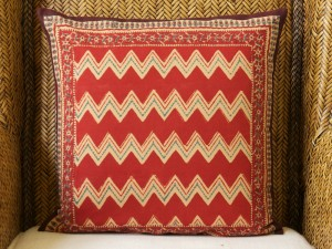 Spice Route (c) throw pillow