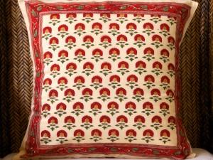 Tropical Garden Accent Pillow