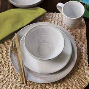 Flow dinnerware
