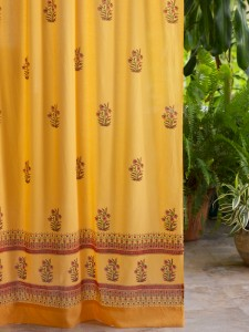 Indian Summer (c) Sheer Cotton Curtain
