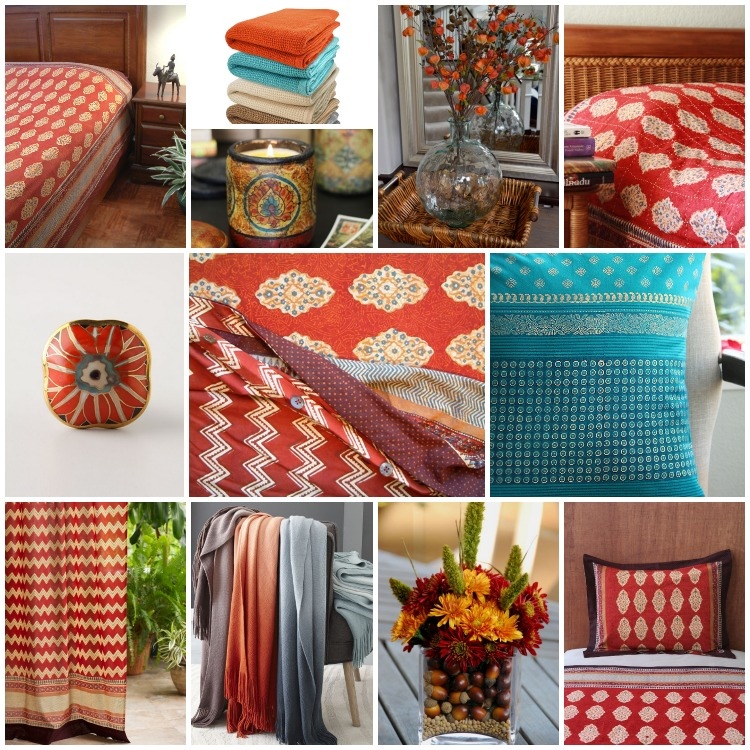 Spice Route Fall Bedding