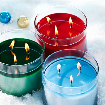 3 wick candles