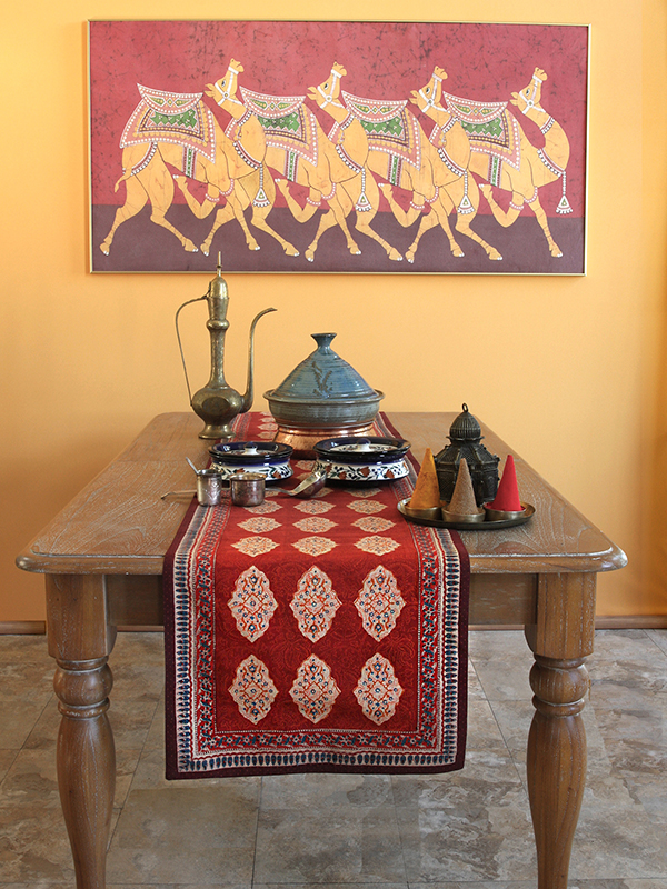 Spice Route Table Runner