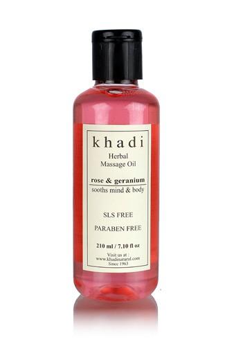 Rose & Geranium Massage oil