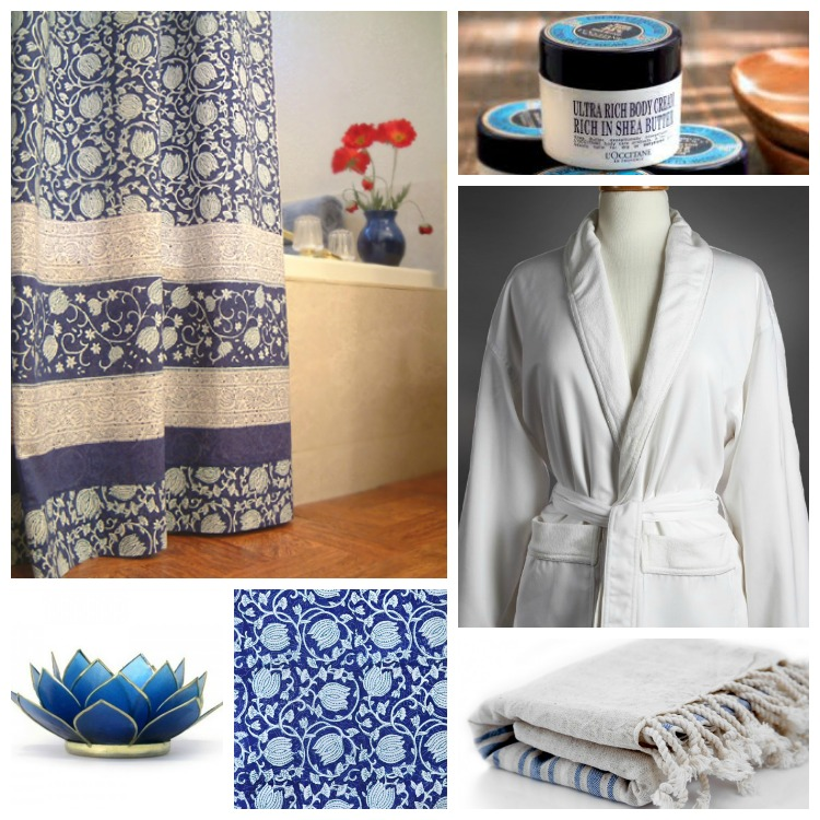 Midnight Lotus MD Bath collage
