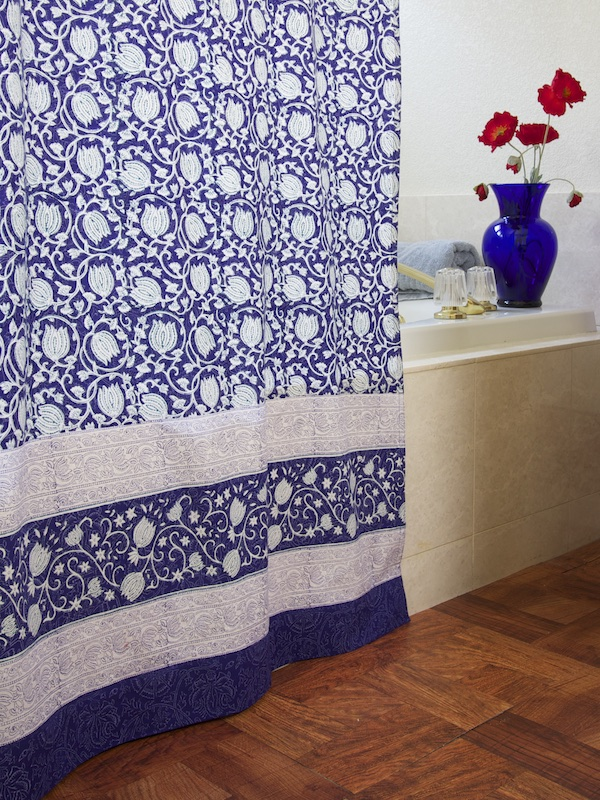 ml_asian_lotus_blue_floral_shower_curtain_main