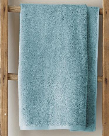 GH blue towel