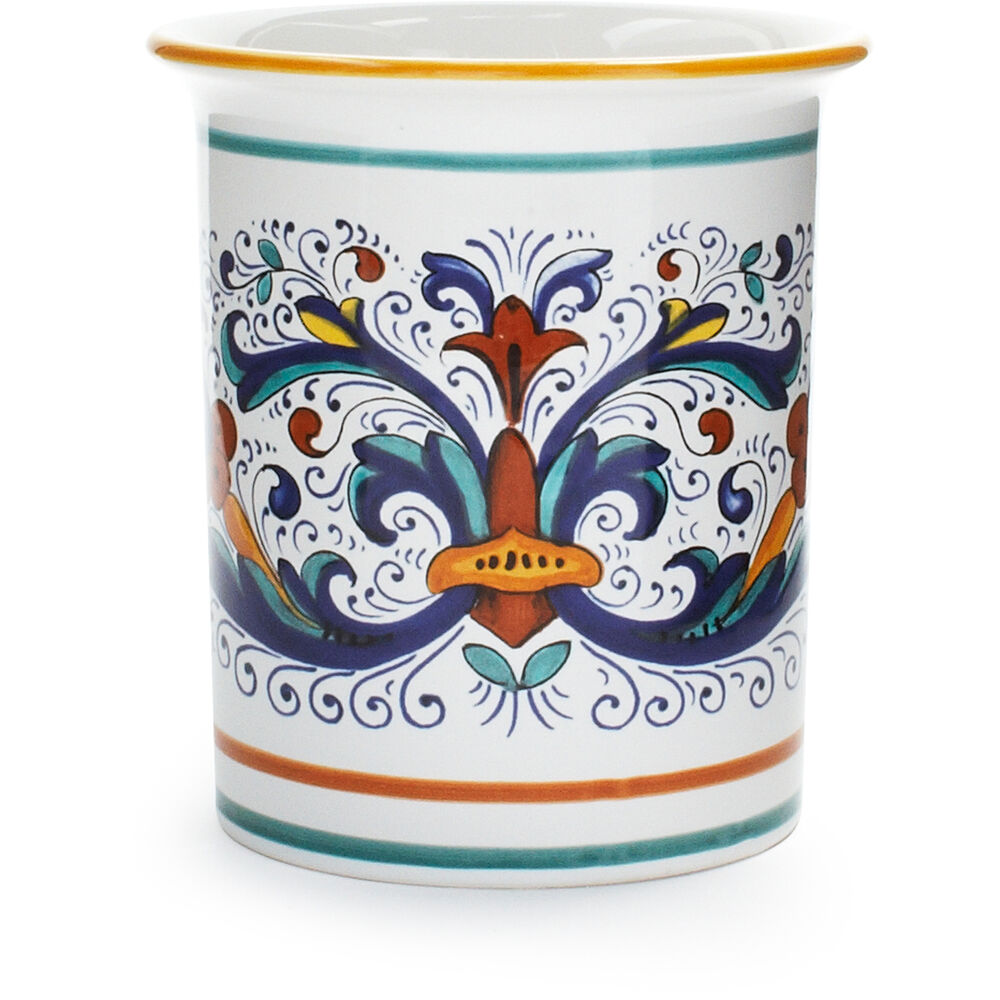 Colorful canister for a Moroccan style kitchen