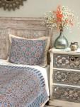 Mosaique Bleue Pillow Sham