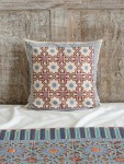 Mosaique Bleue Throw (Complementary)