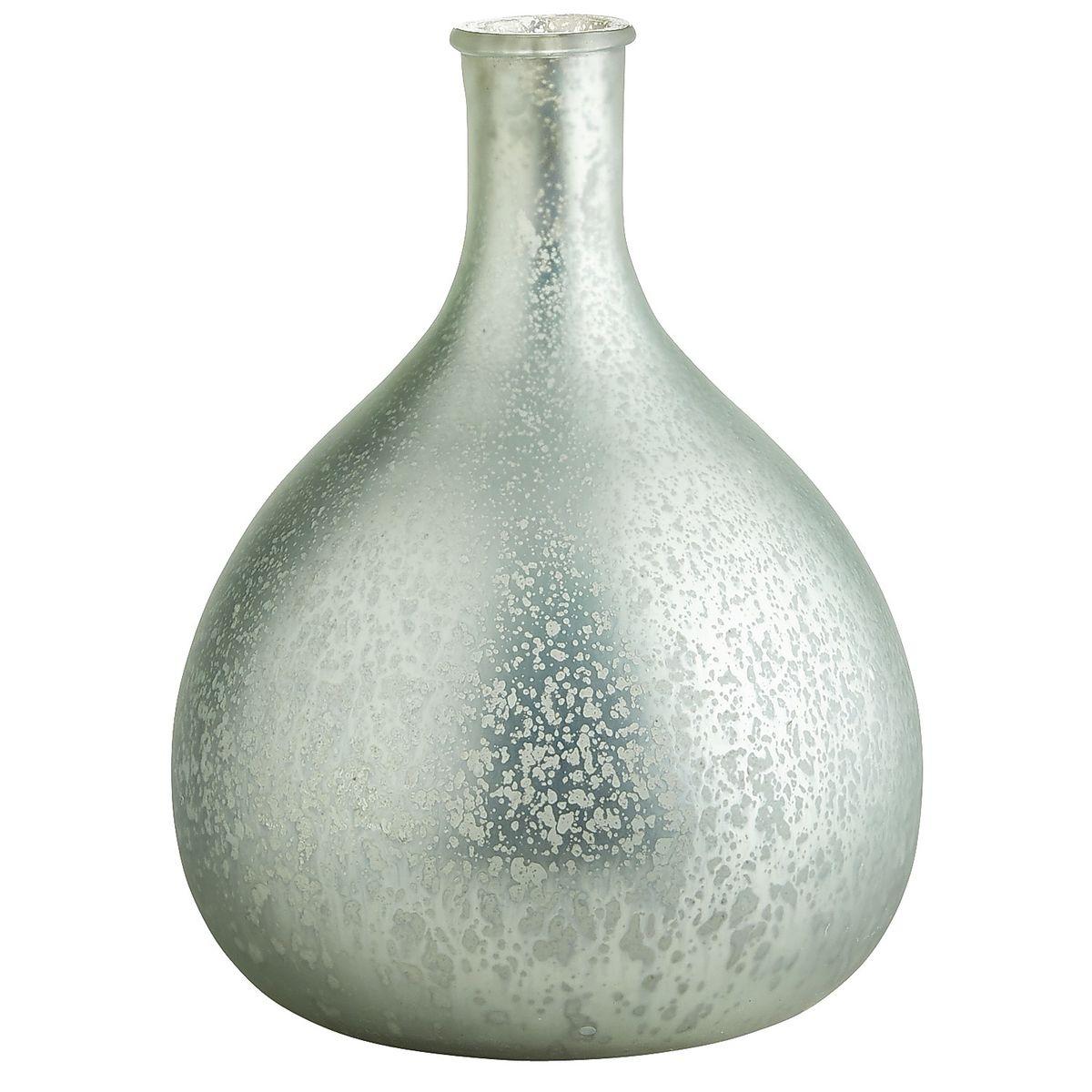 aqua mercury glass vase