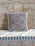 Mosaique Bleue Throw Pillow