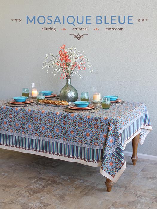 Moroccan Mosaique Bleue for Every Room  Saffron Speak