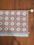 Mosaique Bleue Beaded Valance (Complementary)
