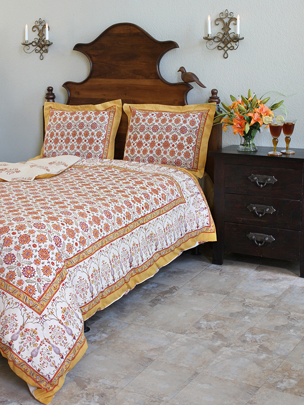 obl_floral_vintage_persian_orange_yellow_duvet_main