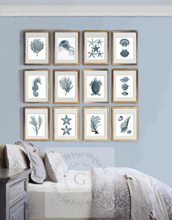 set of 12 prints