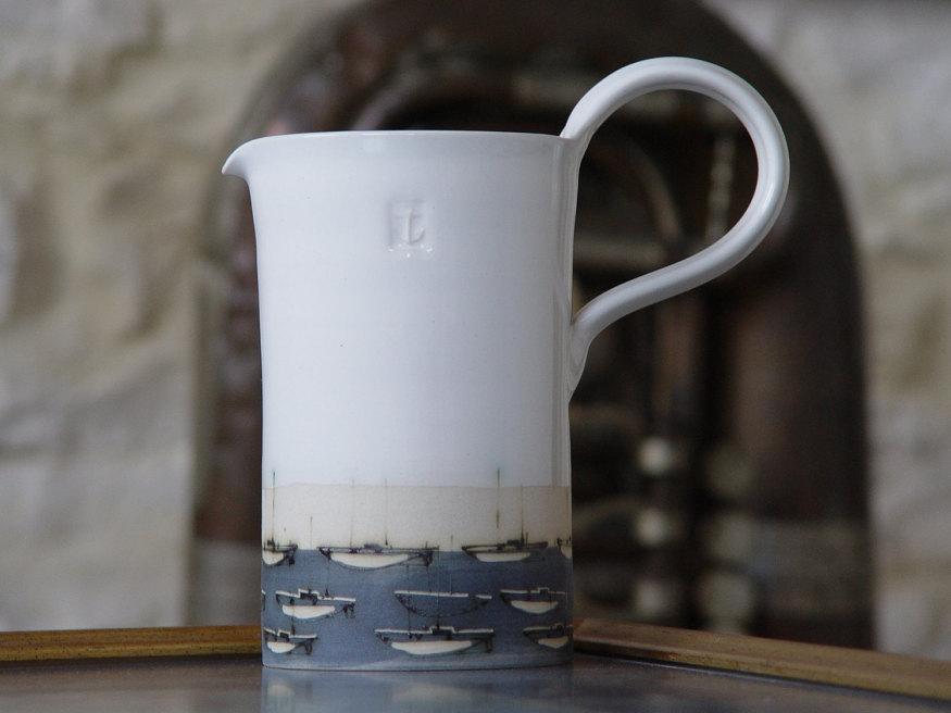 danko pottery stoneware pitcher