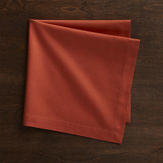 fete-orange-cotton-dinner-napkin