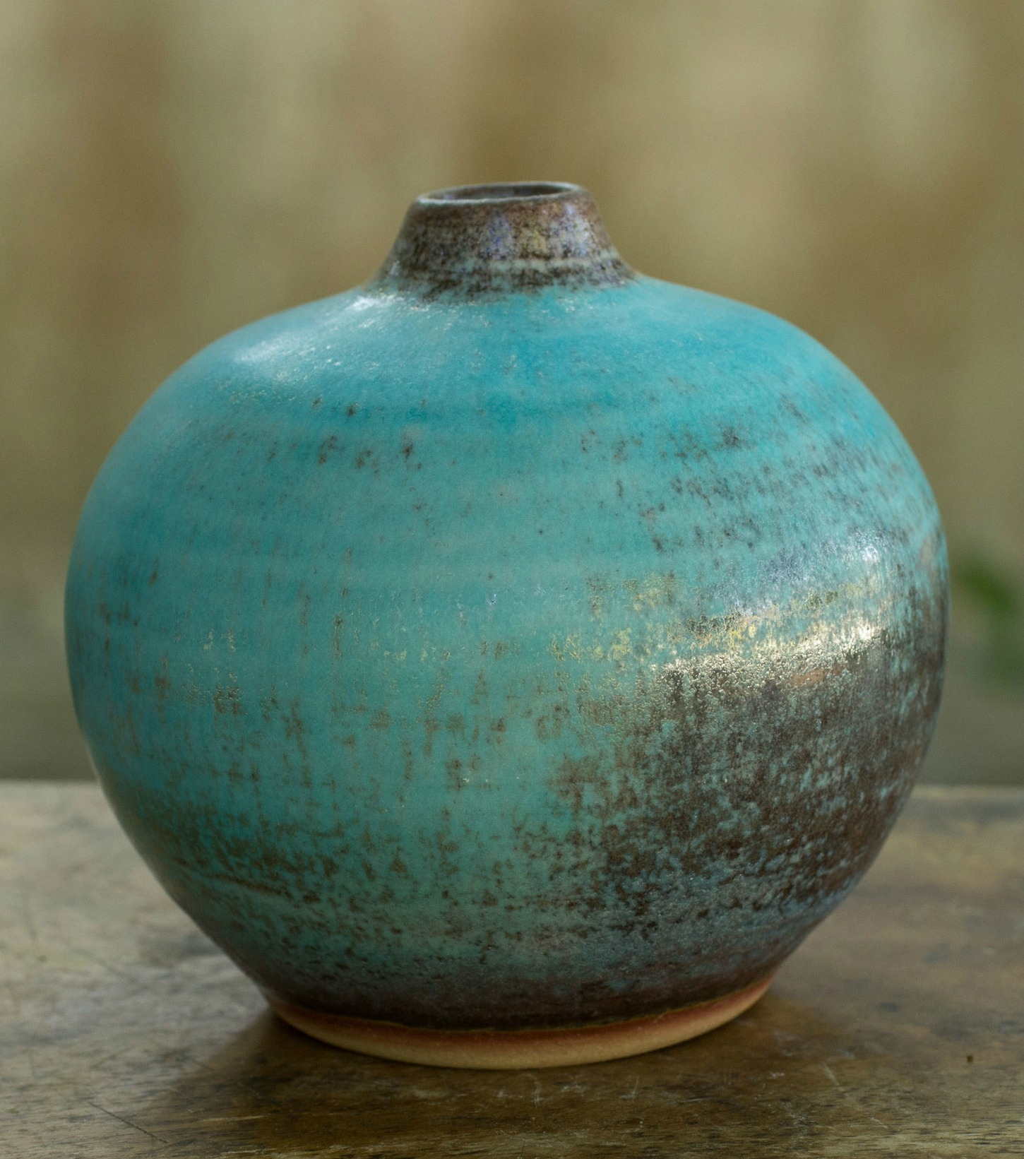 Ceramic Bud Vase Crafted by Hand
