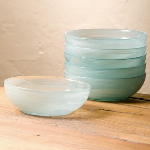 aurora glass bowls viva terra