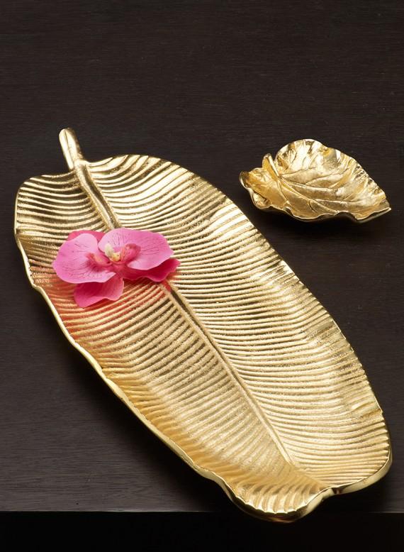 gold leaf trays jamali garden