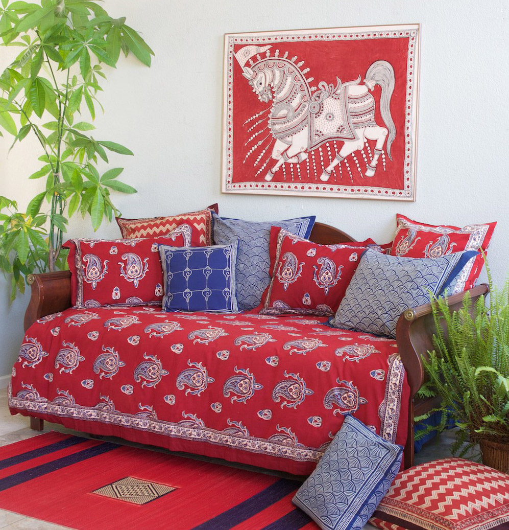 Turn Your Day Bed Into A Yay Bed Saffron Marigold