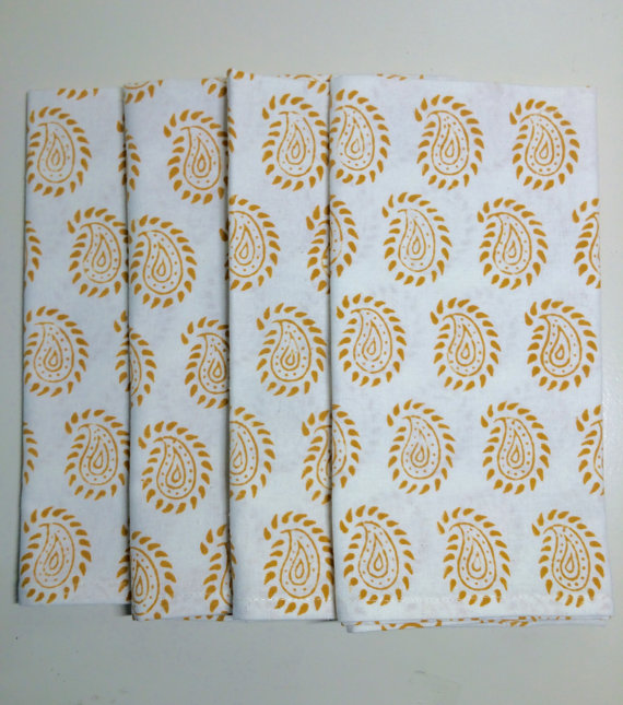 kaurture inc gold napkins