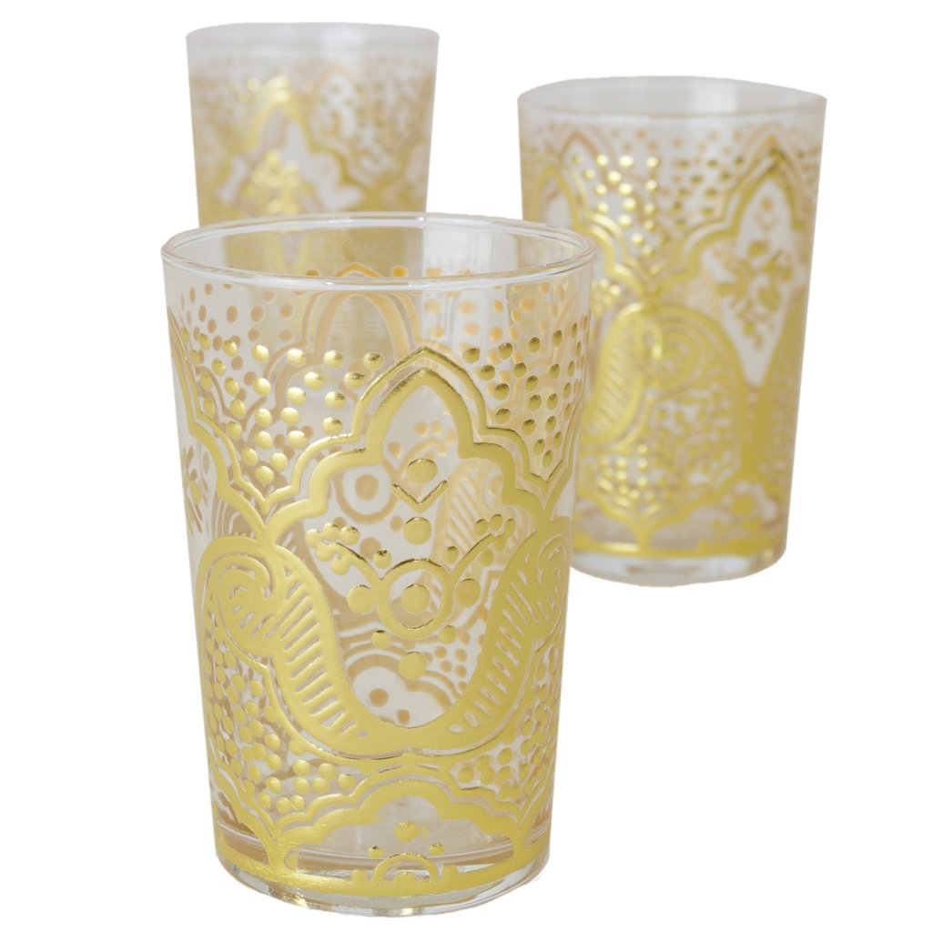 luxury el Kef tea glasses casablanca market