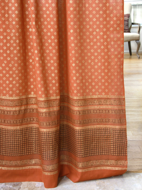orange curtains burnt orange sheer curtains
