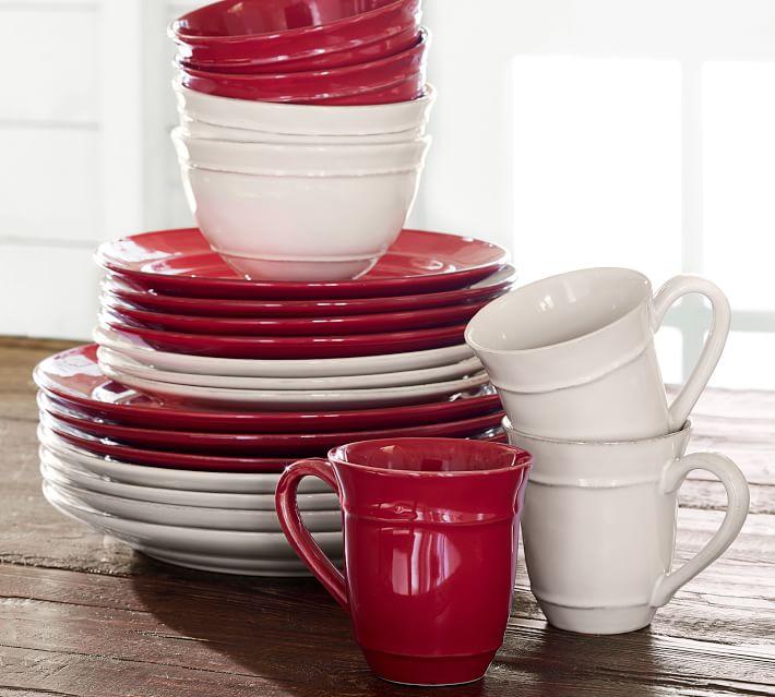 Cambria Stoneware 16-Piece Dinnerware Set