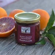 Frog Hollow Farm blood orange marmalade for mother's day breakfast in bed