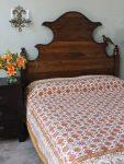 Orange Blossom Bedspread