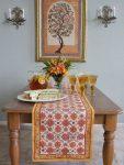 Orange Blossom Table Runner