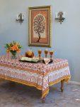 Orange Blossom Tablecloth