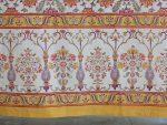Orange Blossom Sheer Curtain (border detail)