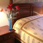 Red Poppy Bedspread
