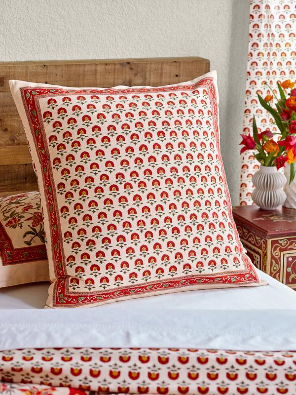 Tropical bedroom pillow