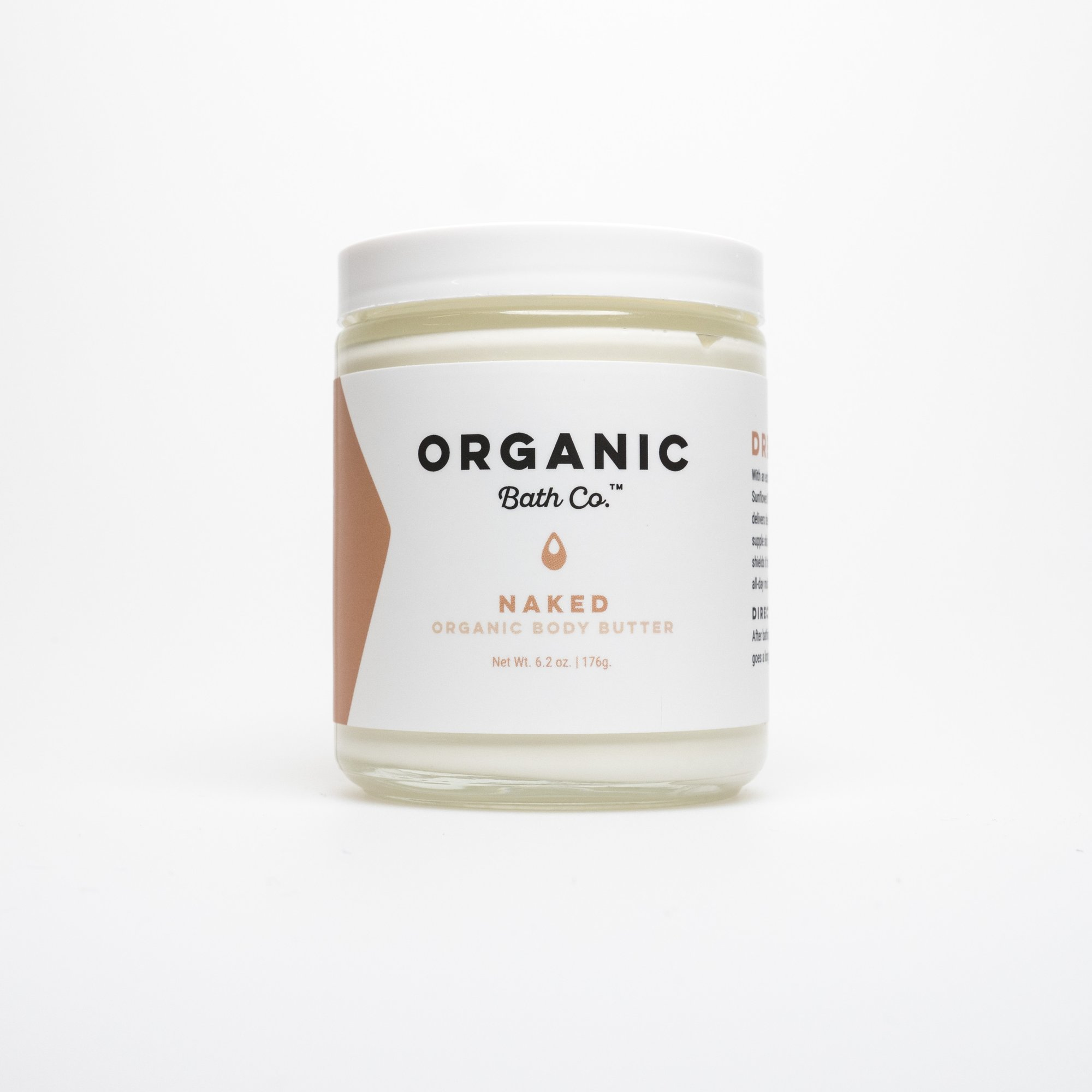 Drenched Organic Body Butter with Argan & Jojoba