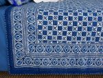 quilted bedspread detail