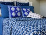 Starry Nights Quilted Bedspread