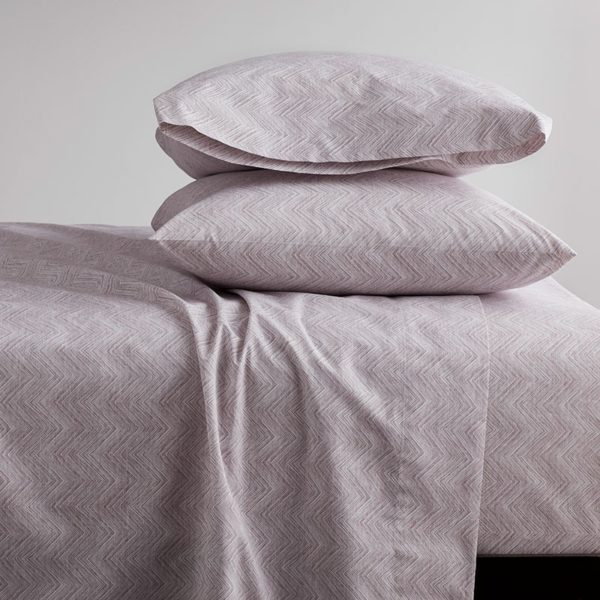 soft purple sheets in a lilac color