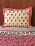 India Rose Pillow Sham (complementary print)
