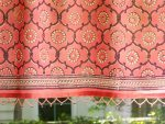 India Rose Beaded Valance (detail)