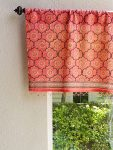India Rose Beaded Valance