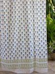 Moonlit Taj (cp) Sheer Curtain Panel