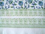 Moonlit Taj Shower Curtain border detail