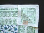 Moonlit Taj Tablecloth (detail)