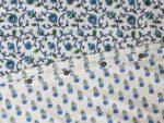 Moonlit Taj Reversible Duvet detail