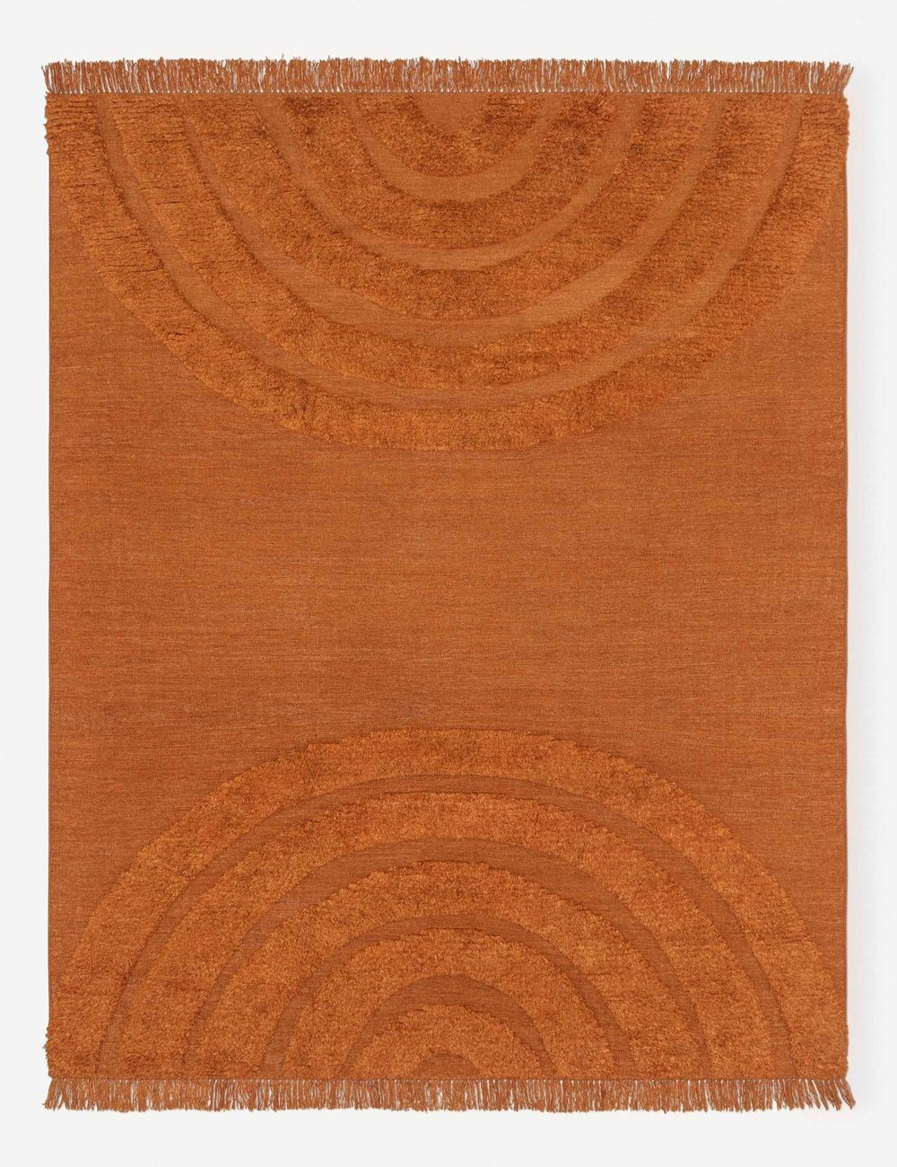 ARCHES RUG, RUST BY SARAH SHERMAN SAMUEL