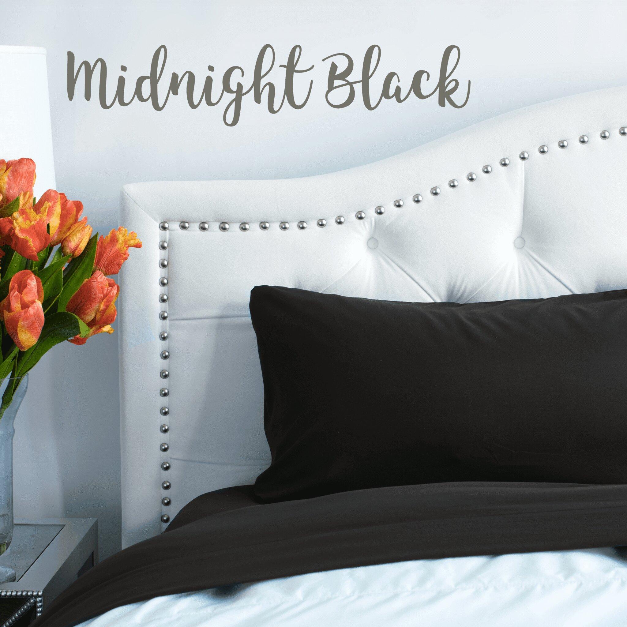 Midnight Black Sheet Set